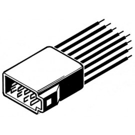 ISO stekker kábellel