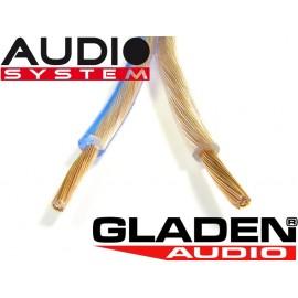 Gladen 2x1,5mm2 hangszóró kábel